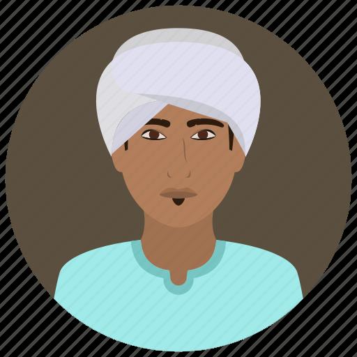 avatar, culture, man, muslim, people, user icon
