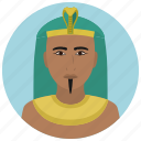 avatar, culture, man, people, pharaoh, user icon