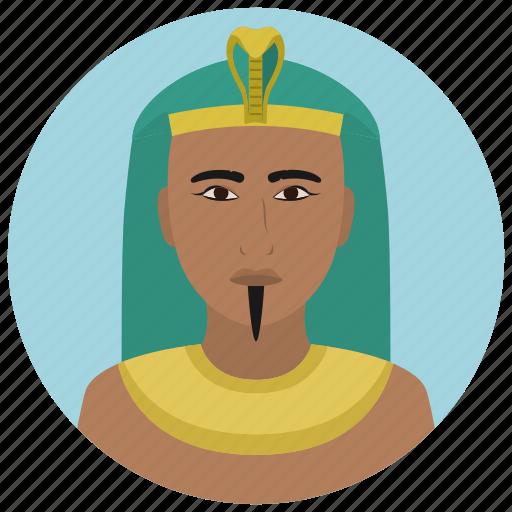 avatar, culture, man, people, pharaoh, user icon
