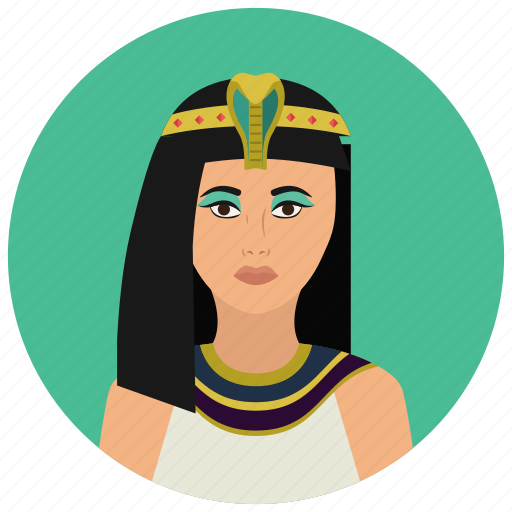 avatar, culture, people, pharaoh, user, woman icon