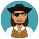 avatar, culture, man, people, pirate, user icon