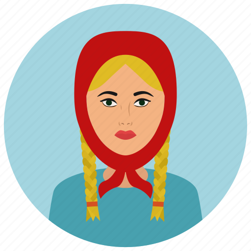 avatar, culture, people, russian, user, woman icon
