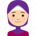 arab, face, girl, middle east, nations, people, woman icon