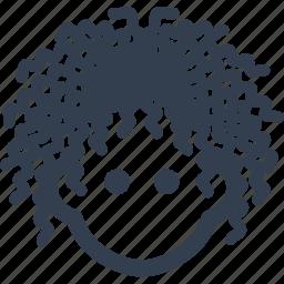 avatar, hair, head, human, man, person, user, woman icon