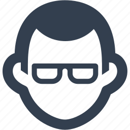 avatar, eye glasses, father, human, man, person, user icon