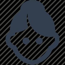 avatar, human, lady, person, teacher, user, woman icon