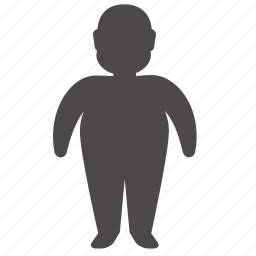adult, body, health, human, man, overweight, people icon
