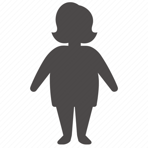adult, body, health, human, overweight, people, woman icon