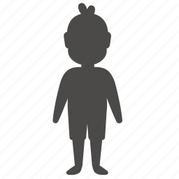 body, boy, child, health, human, overweight, people icon