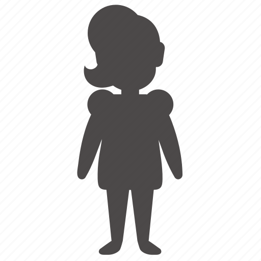body, child, girl, health, human, overweight, people icon