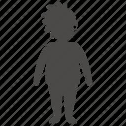 age, body, girl, human, overweight, people, teenager icon