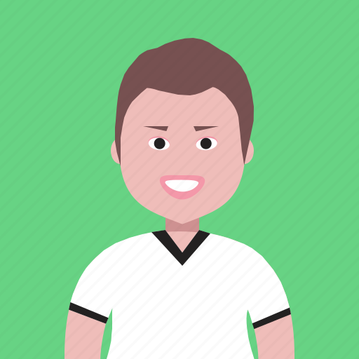 account, avatar, boy, man, people, person, profile, student, team icon