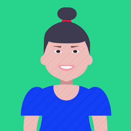 account, avatar, lady, people, person, profile, woman icon