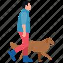 jogging time, morning walk, nature walk, pet walk, puppy walk, running icon