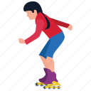 outside game, park fun, physical game, skateboarder, skating ramp icon