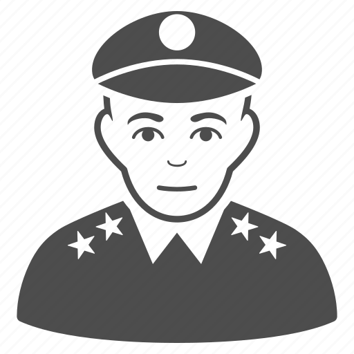 army, general, guard, military, officer, police, soldier icon