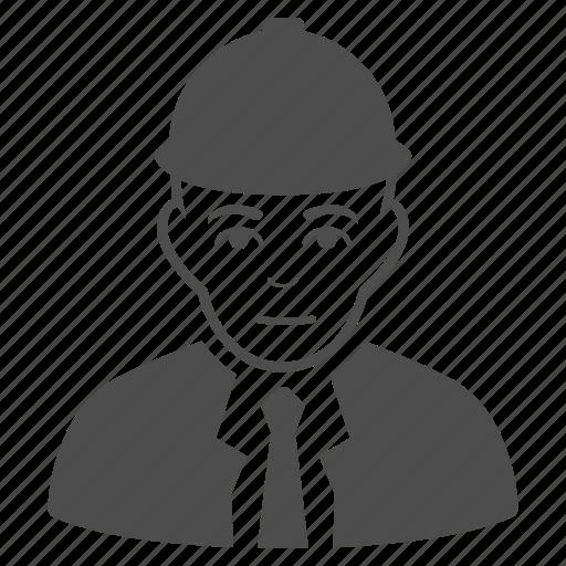 account, builder, developer, employee, engineer, user, worker icon