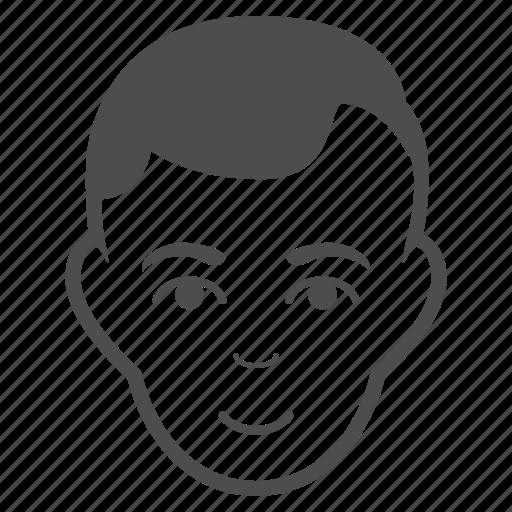 avatar, face, head, male, man, profile, user icon