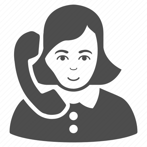 chat, communication, connection, operator, phone support, receptionist, talk icon
