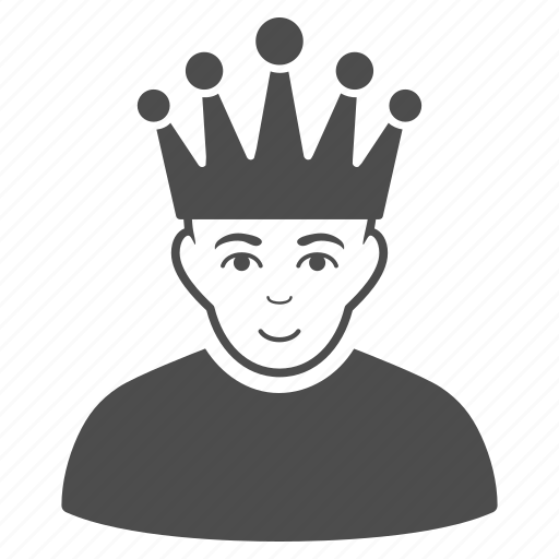 administrator, avatar, boss, chief, crown, king, manager icon