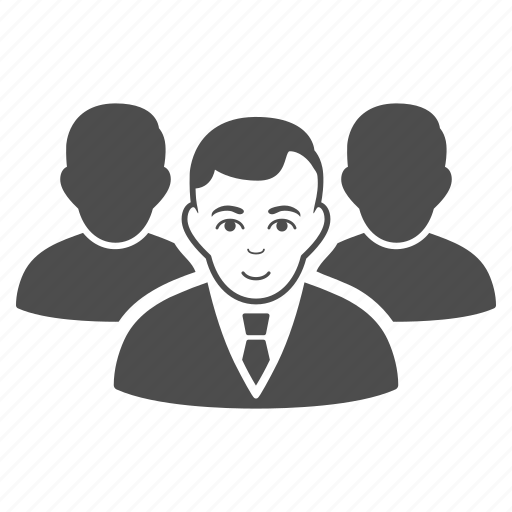 company, manager, men, people, staff, team, user group icon