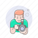 avatars, camera, guy, man, photographer