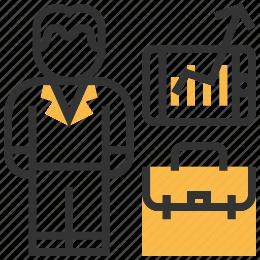 avatar, businessman, people, person, profession, profile, user icon