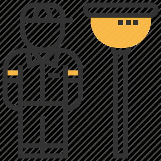 avatar, people, plumber, profession, user icon