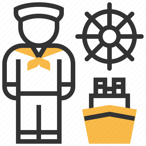 avatar, profession, sailor, user icon
