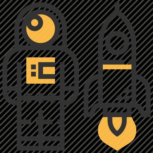 avatar, profession, profile, spaceman, spaceship, user icon