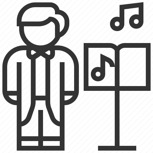 avatar, director, musician, people, profession, profile icon