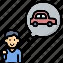 taxi, driver, car, asset, target, employee, convenience