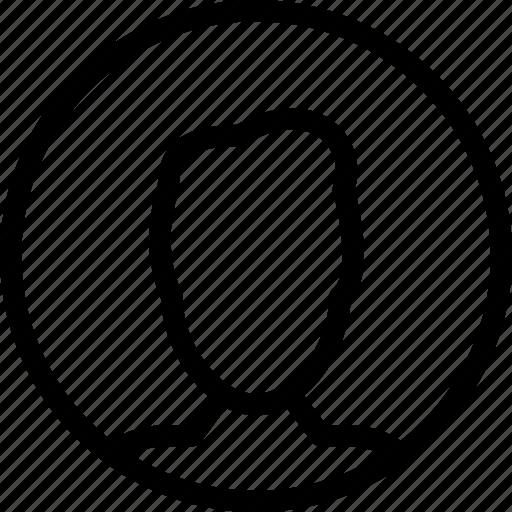 account, business, creative, grid, human, line, male, man, people, profile, shape, user icon