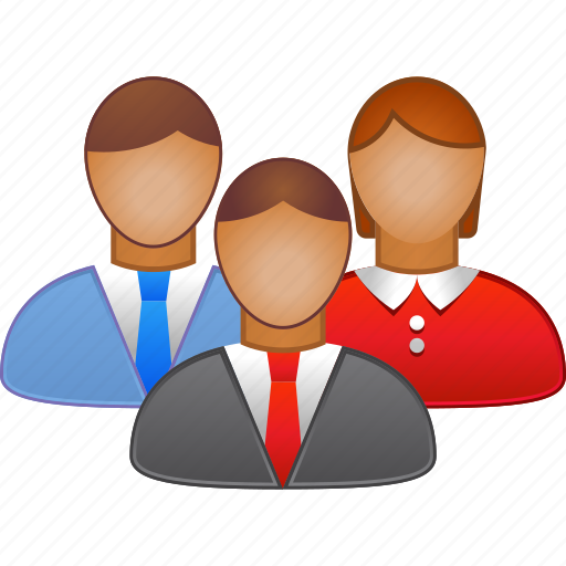 business meeting, communication, conference, connection, contact, people, training icon