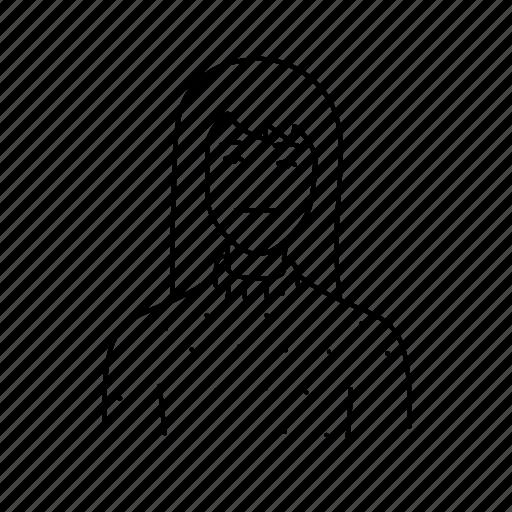 avatar, comic, fashion, girl, people, profile, style icon