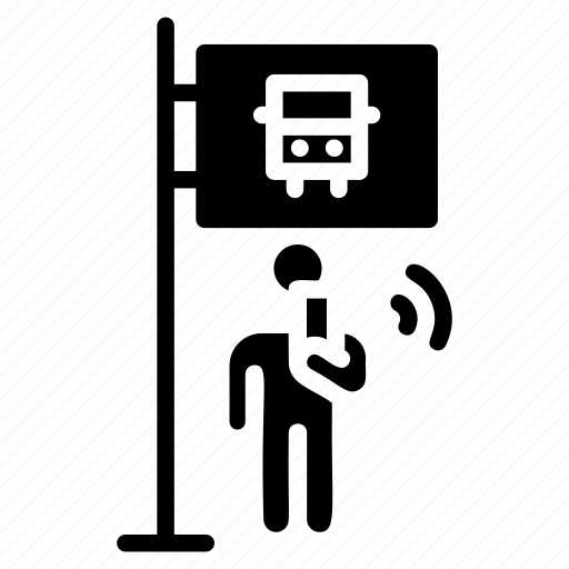 holding mobile, man using phone, mobile addiction, smartphone usage, using phone pictogram icon