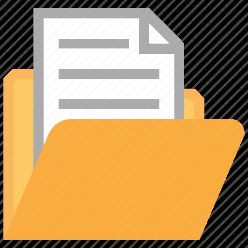 Data, directory, document, documents, files, folder, open ...