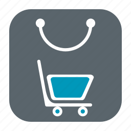 bag, basket, business, cart, ecommerce, online, shop, shopping icon