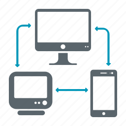 communication, computer, connection, connectivity, mobile, server icon