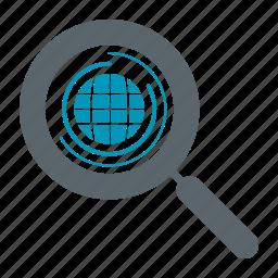 earth, glob, globe, search, seo, web, world icon