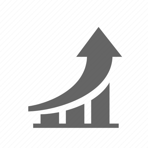 business, chart, growth, improvement, increase, performance, progress icon
