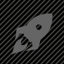 fast, high, lightning, power, rocket, speed, up icon