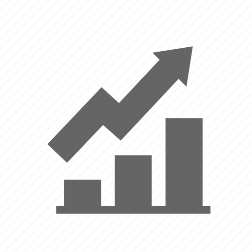 business, chart, growth, improvement, increase, performance, up icon