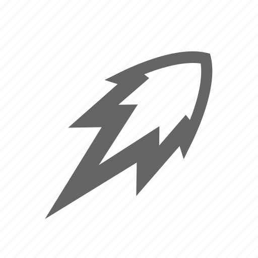 fire, flame, flash, high, lightning, power, up icon