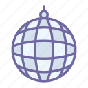 disco, ball, music, club, dance, party