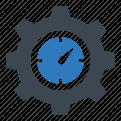 clock, management, settings icon
