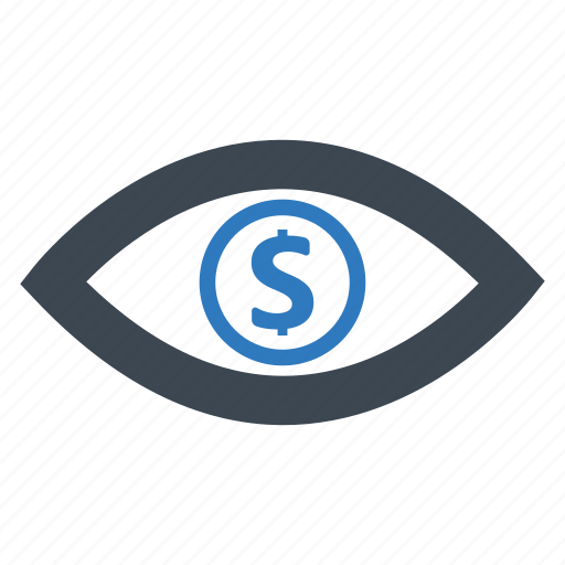 eye, sales, view, watch icon