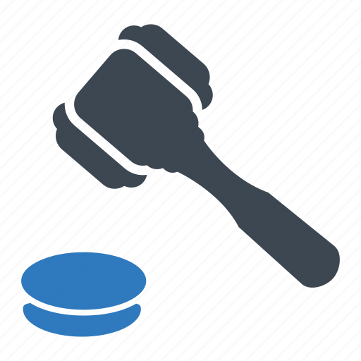Auction, gavel, justice icon - Download on Iconfinder