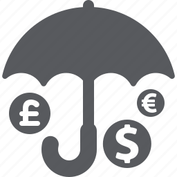 business, investment insurance, protection icon