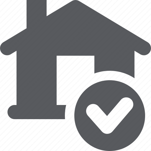 approved, home mortgage, loan icon